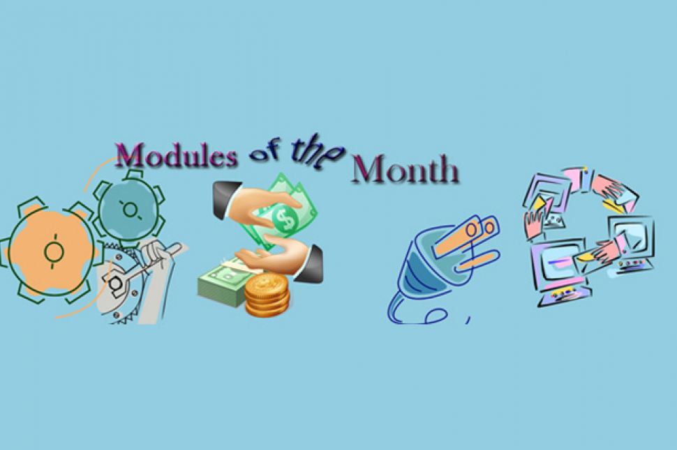 Drupal modules of the month